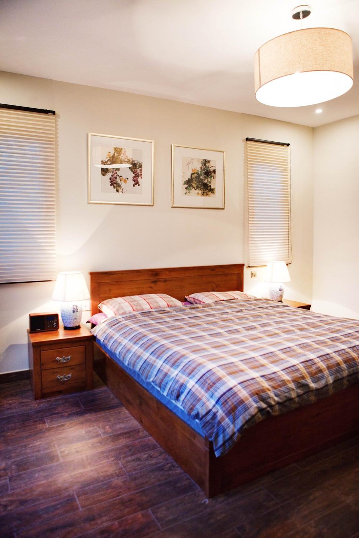 混搭四居室装修卧室背景墙图片