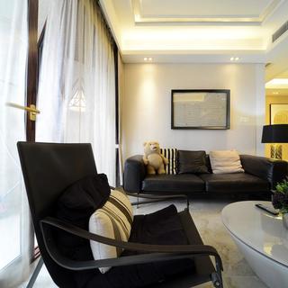 现代简约三居室设计 成熟大气