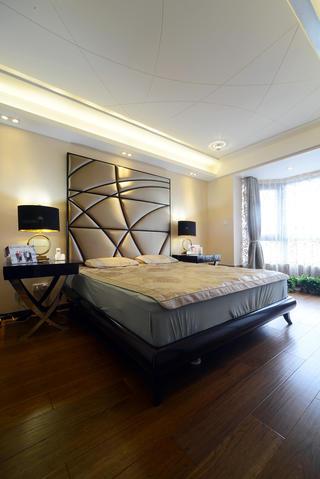 现代简约三居室卧室设计图