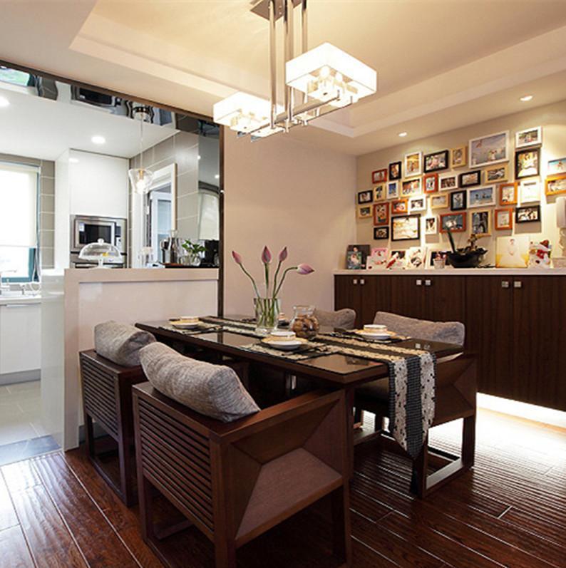 120平现代简约之家餐厅装修效果图