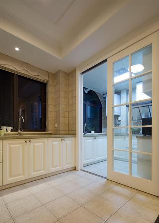 简约美式四居室装修厨房设计图