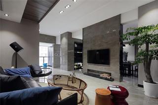 大户型现代风格家电视墙设计