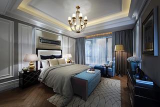 高贵奢华欧式别墅装修卧室效果图