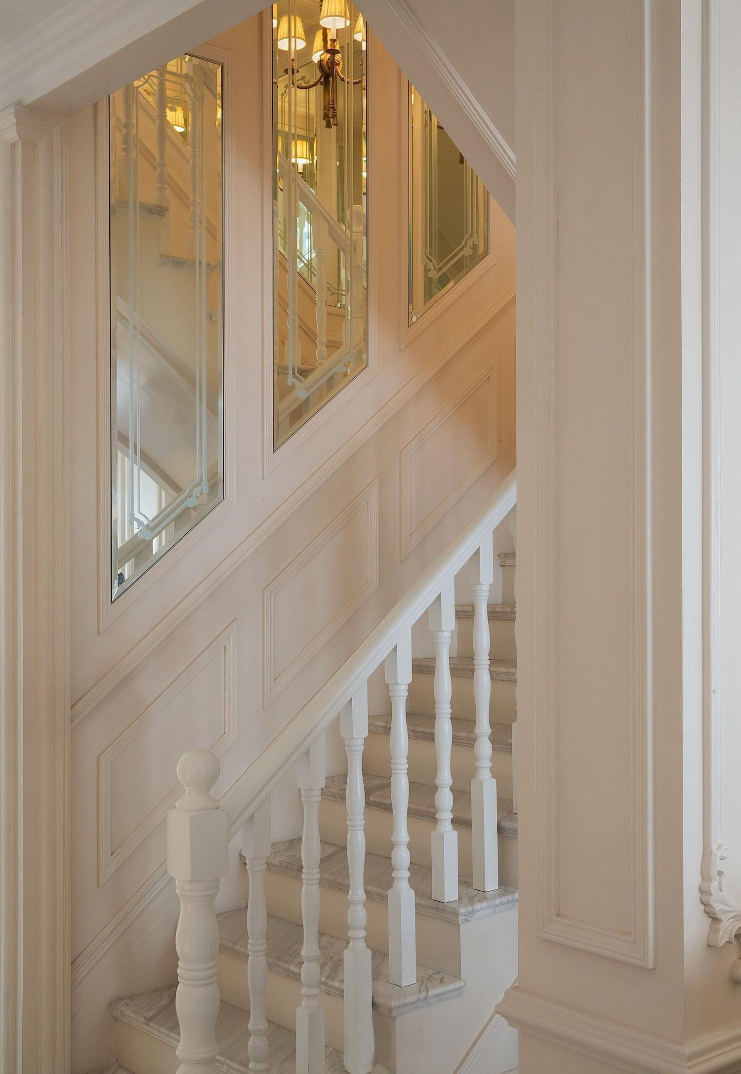 法式别墅装修楼梯图片