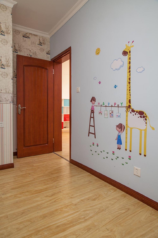 小户型彩色宜家混搭儿童房墙面设计