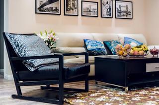 现代简约三居室装修沙发椅设计