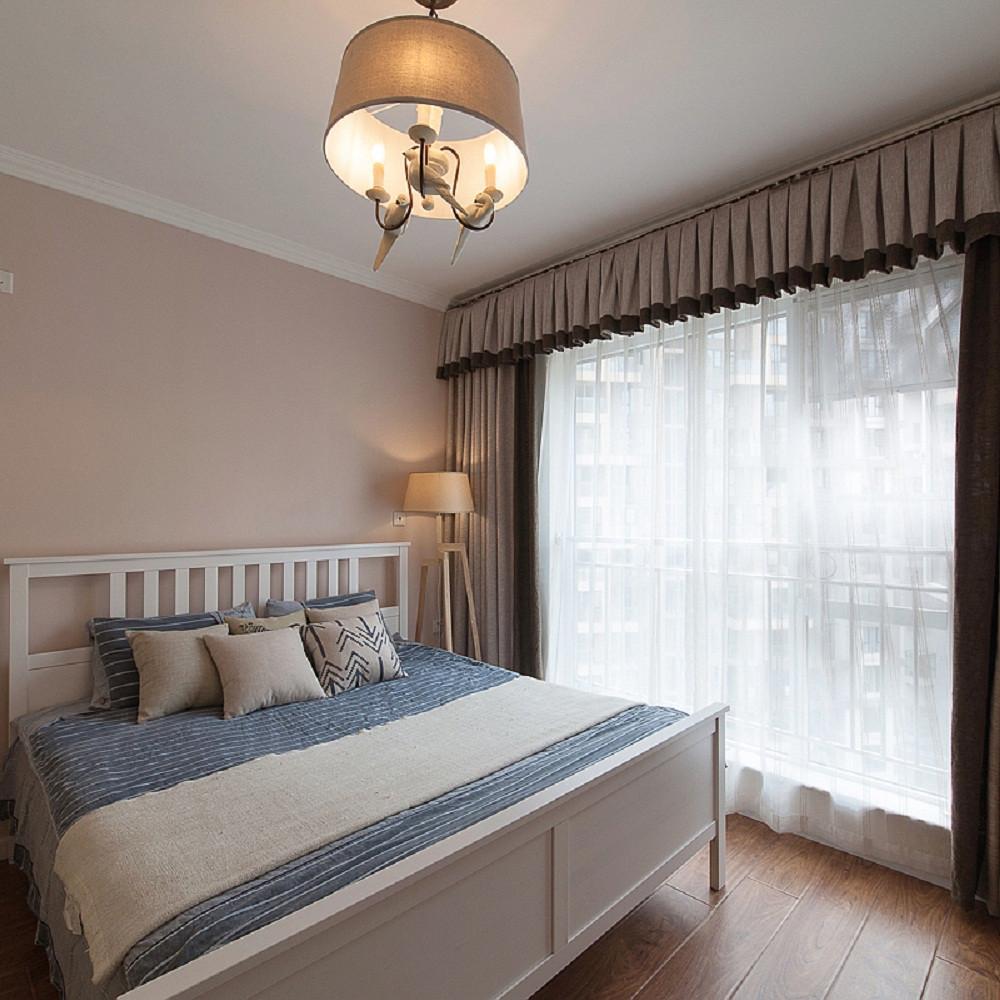 简约宜家风三居卧室布置图
