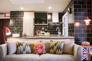 两居室混搭之家沙发图片