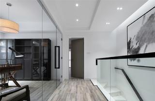 188平现代风格家楼梯间过道
