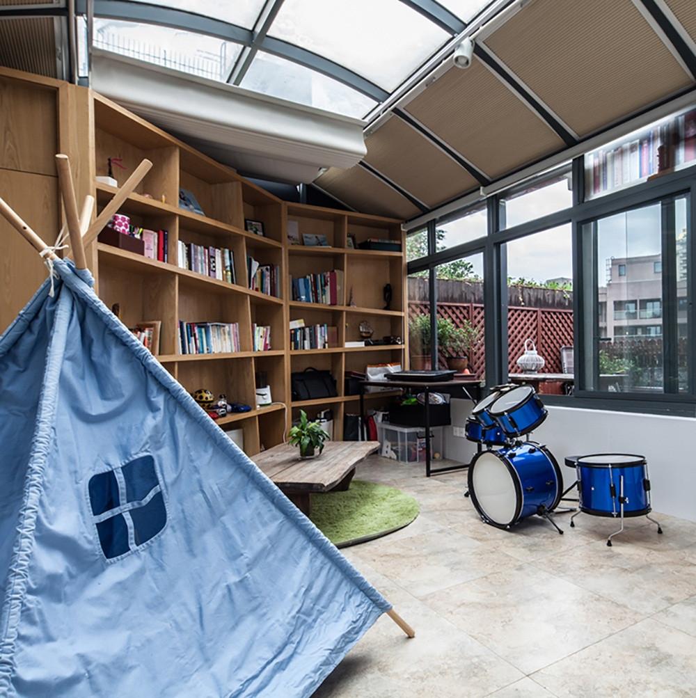 简约风三居之家阳光房设计图