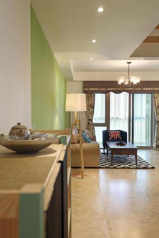 80平两居室装修落地灯设计