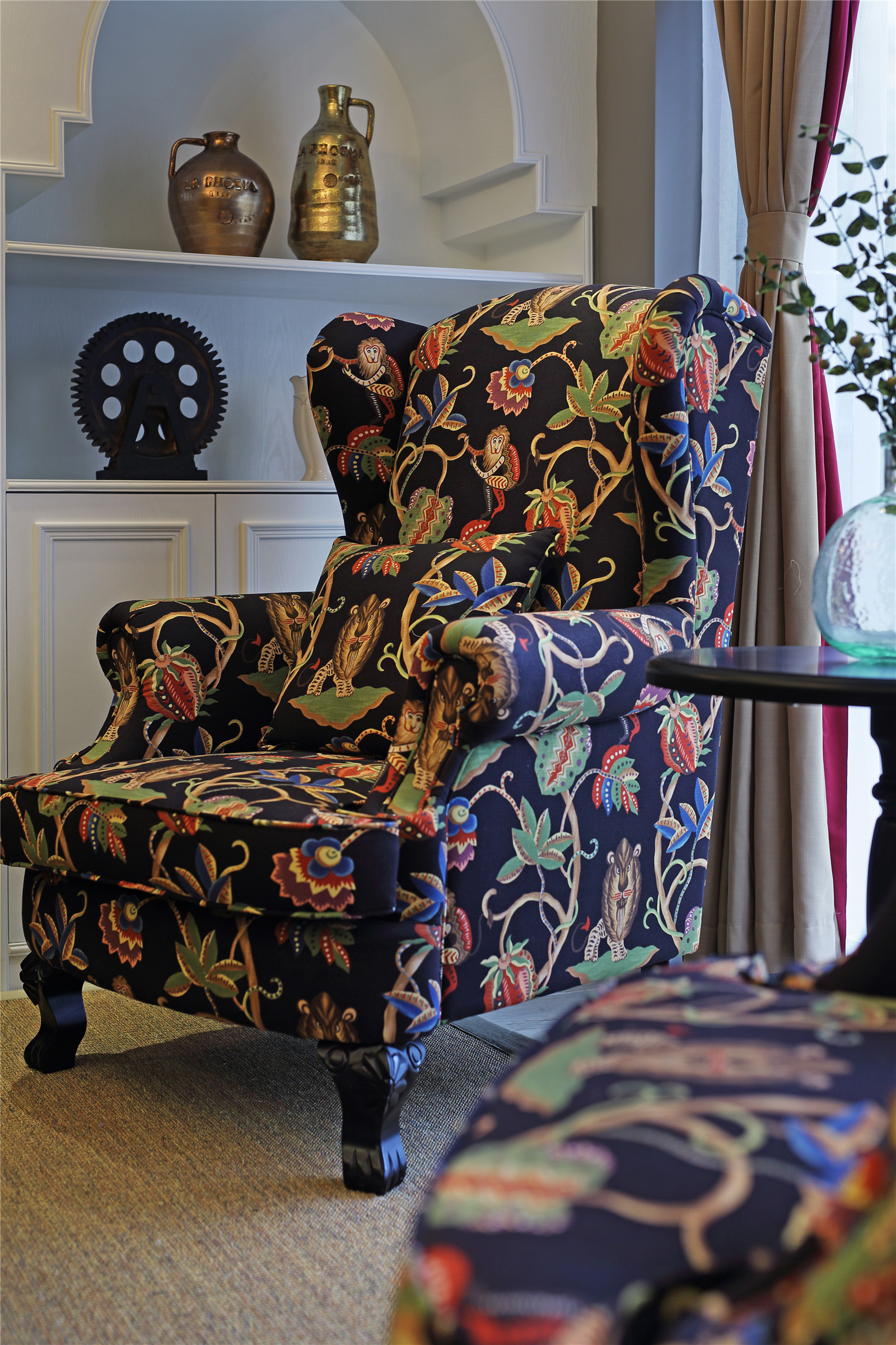 四居室美式风格家椅子图片