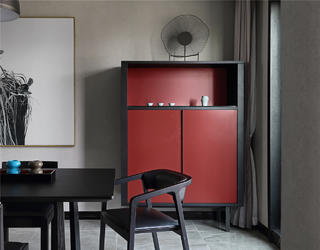 大户型现代风格家餐边柜设计