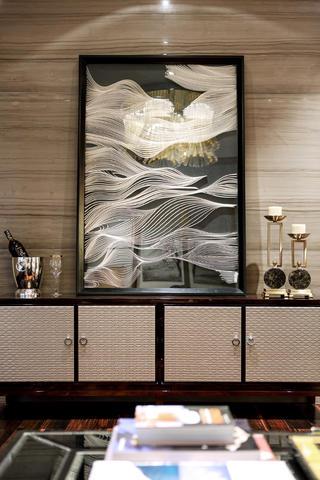 现代中式样板房装修装饰摆件