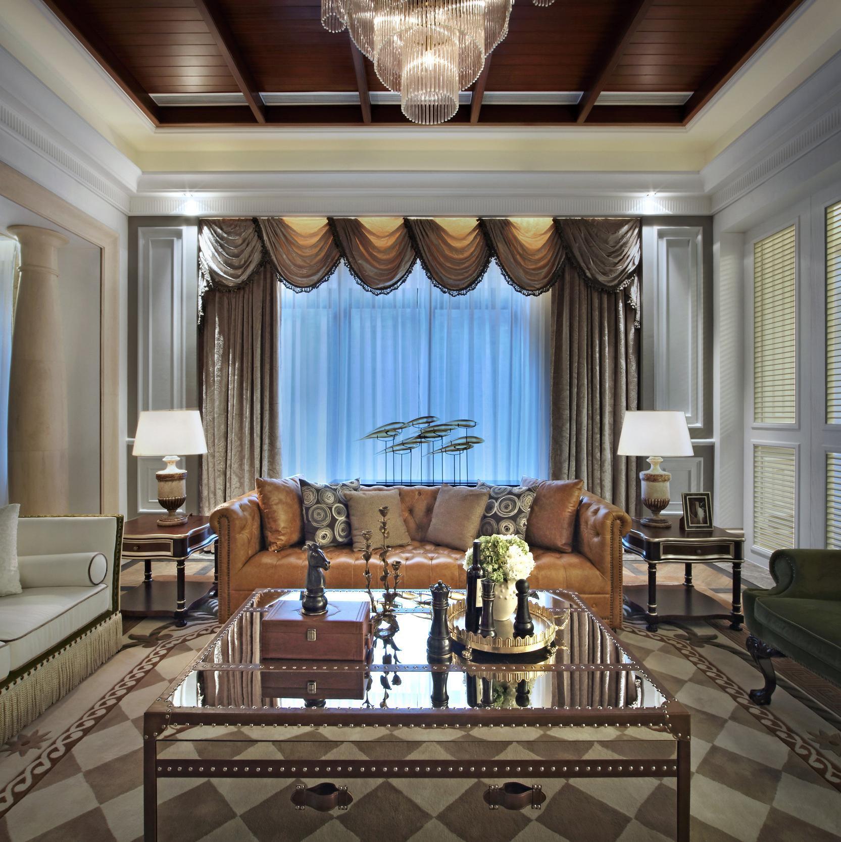 高贵奢华欧式别墅装修沙发图片