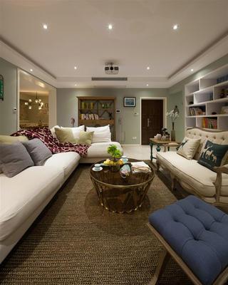 168㎡混搭四居室装修沙发图片