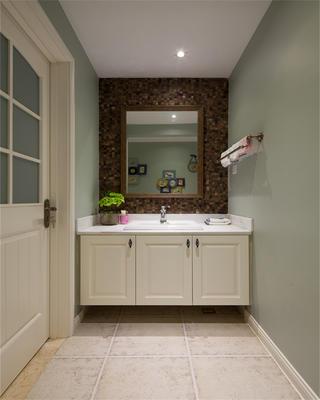 168㎡混搭四居室装修浴室柜图片