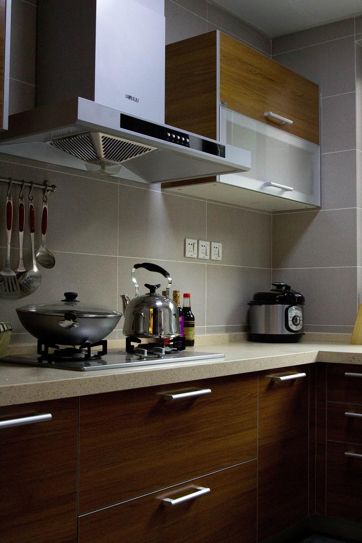 新中式三居之家厨房设计图