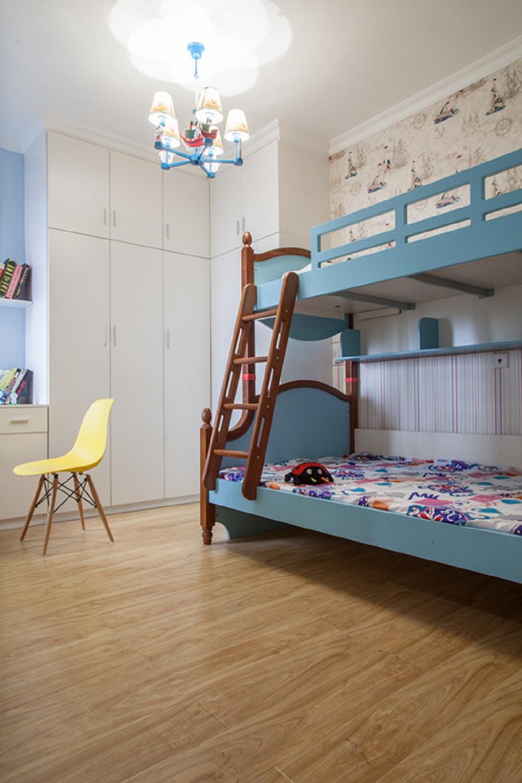 小户型彩色宜家混搭装修儿童房搭配图