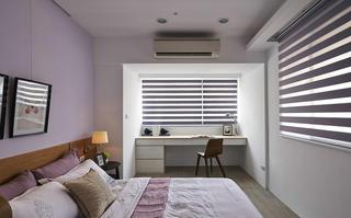 140平现代风格三居装修书桌设计