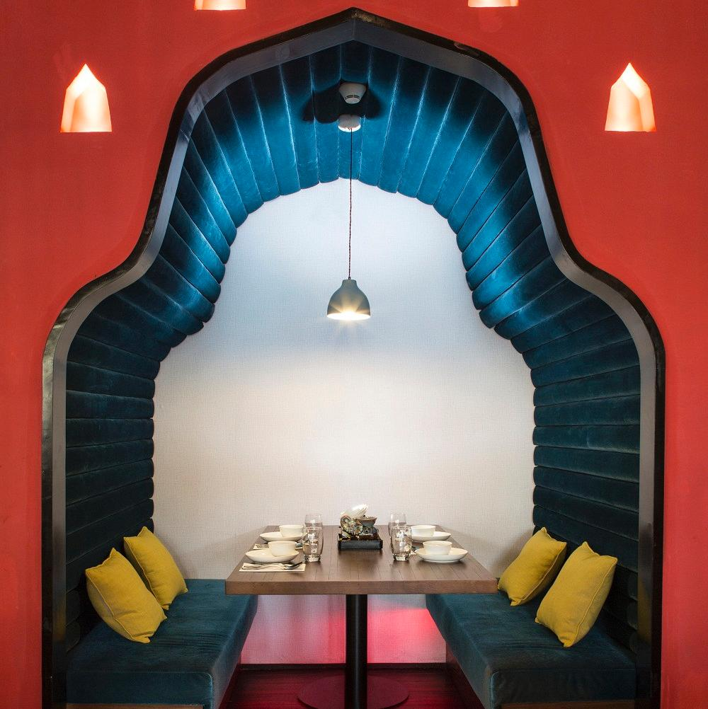 东南亚风情餐厅装修设计图