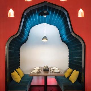 东南亚风情菜馆装修设计图