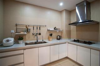 120平三居之家厨房设计图