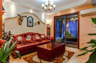 混搭风格三居之家沙发图片