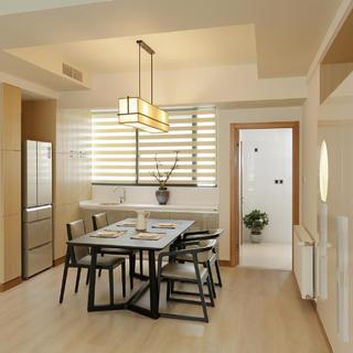 125平简约三居室装修设计图