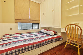 美式乡村风格家卧室榻榻米设计