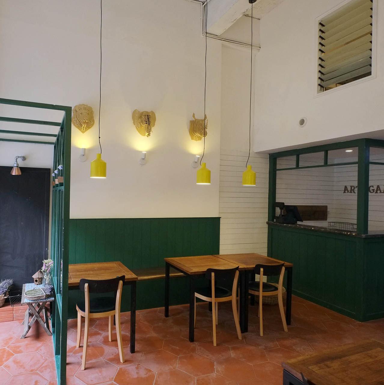 北欧混搭风餐厅装修设计图