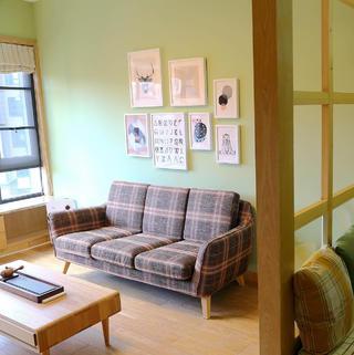 两居室简约之家 清新原木风