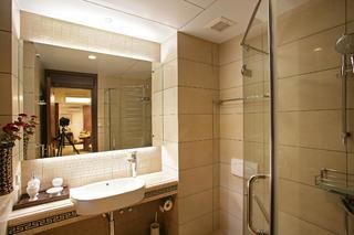 新中式别墅装修卫生间设计图