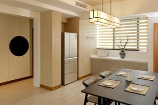 125平简约三居室装修餐桌图片
