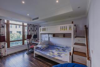 欧式混搭别墅装修儿童房设计图