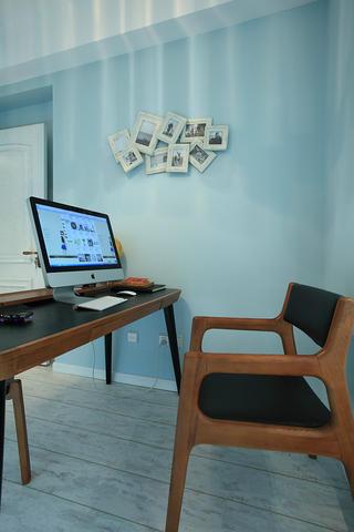 混搭风格三居室照片墙布置