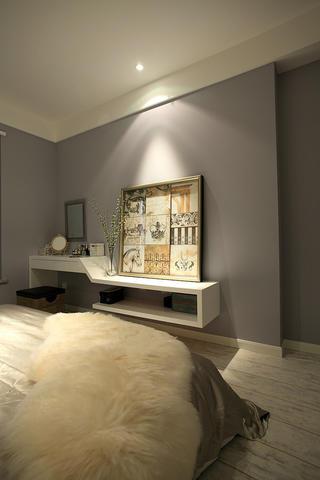 混搭风格三居室卧室一角