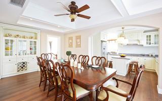 美式风格别墅餐桌椅图片