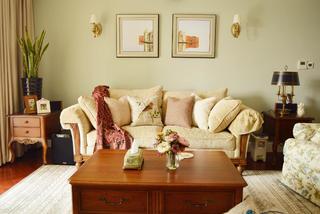 180㎡简约美式四居装修沙发图片