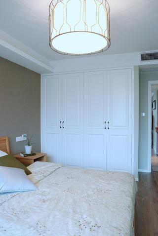 120平北欧风格家衣柜图片
