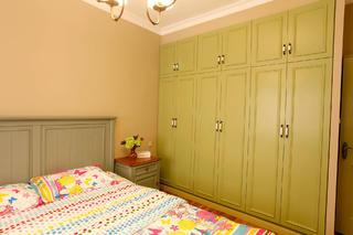 100平美式风格家衣柜图片