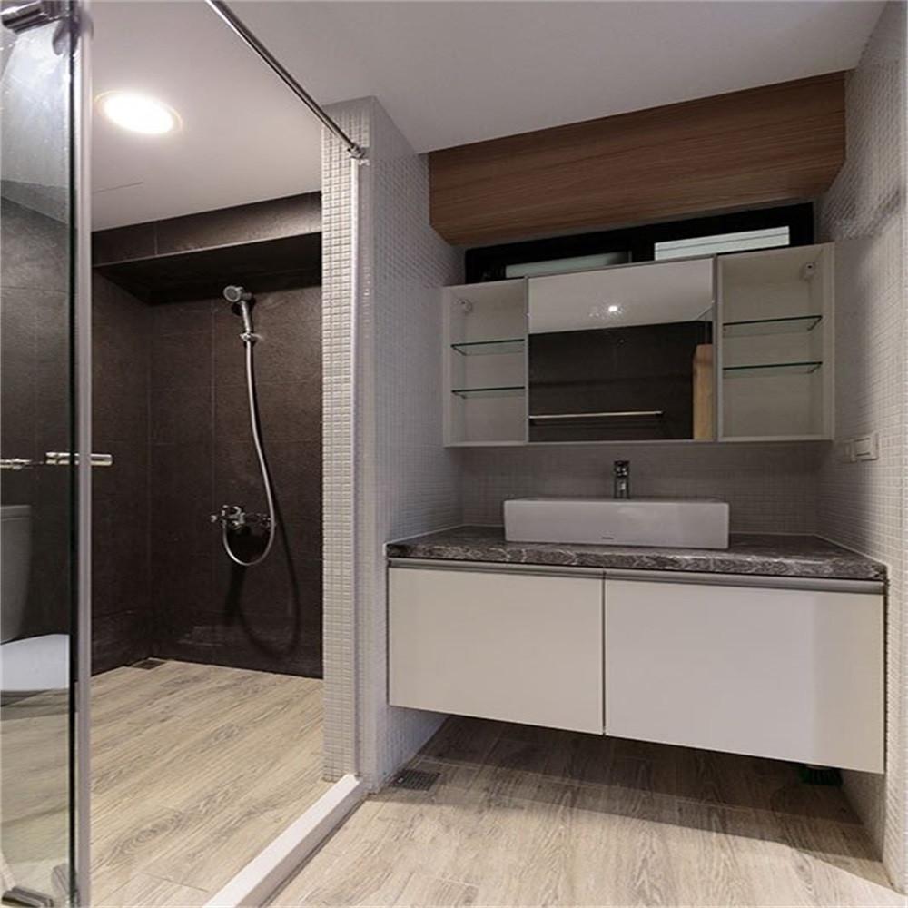 现代简约二居之家卫生间效果图