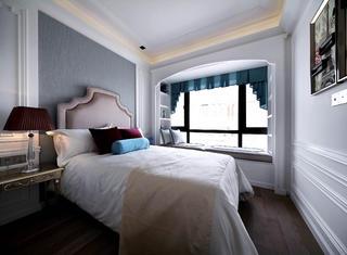 新古典四居装修飘窗设计
