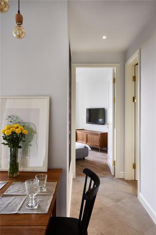 两居室北欧风格家过道图片