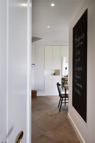 两居室北欧风格家黑板墙设计