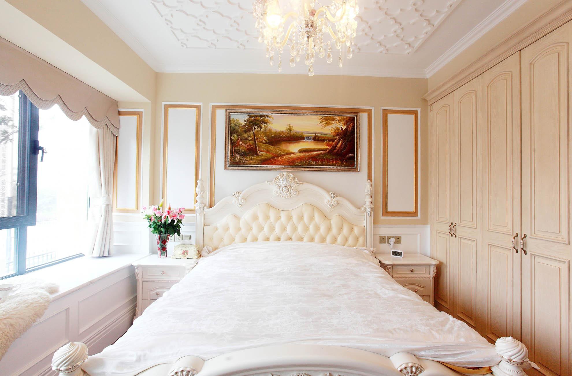 大户型法式风格装修卧室搭配图
