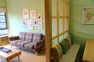 两居室简约之家隔断设计