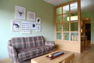 两居室简约之家沙发背景墙图片