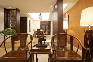 新中式别墅装修椅子图片