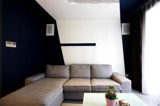 现代简约小户型客厅设计图